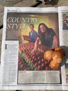 Herald Sun article, Smoked Egg Company